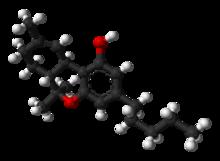 THC molecule