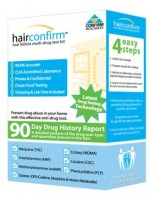 Hair Confirm at home hair strand drug test kit